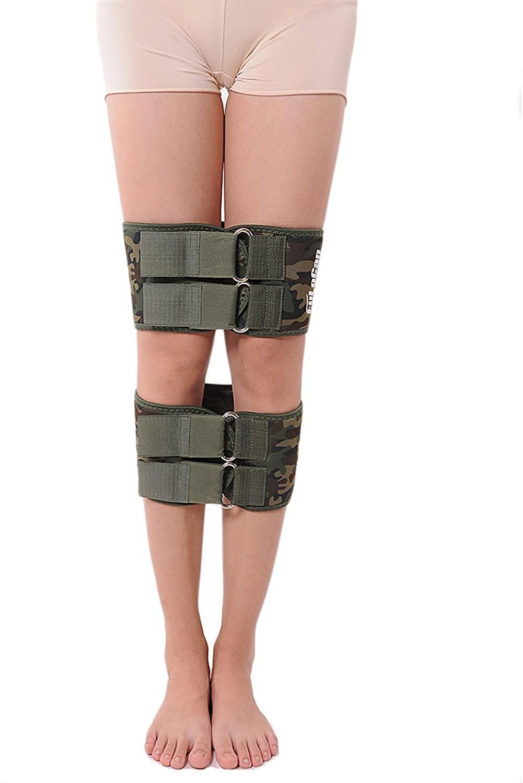 Fashion Army Green O Form X Form Legs Correction Belt (S)