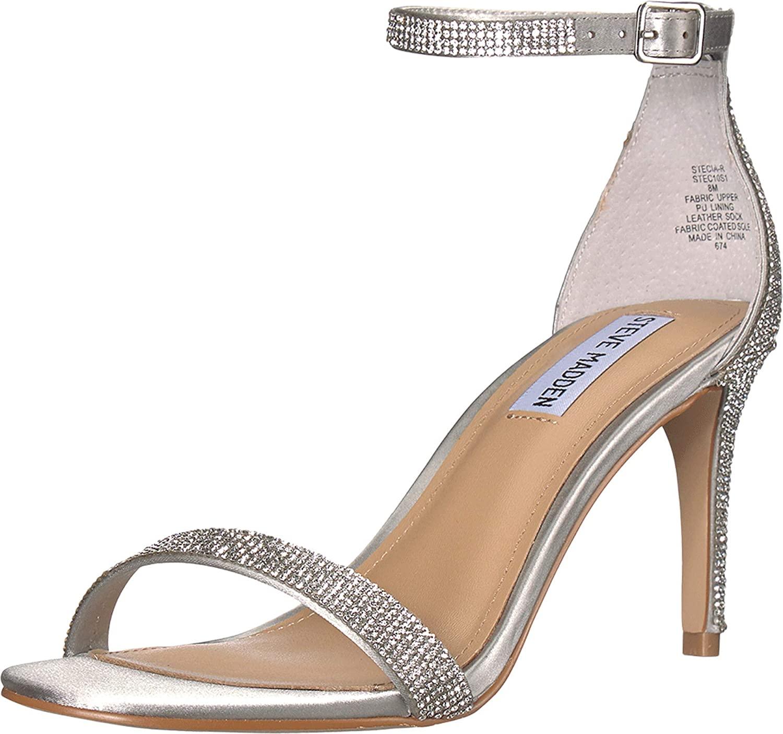 Steve Madden Womens Stecia-r Heeled Sandal