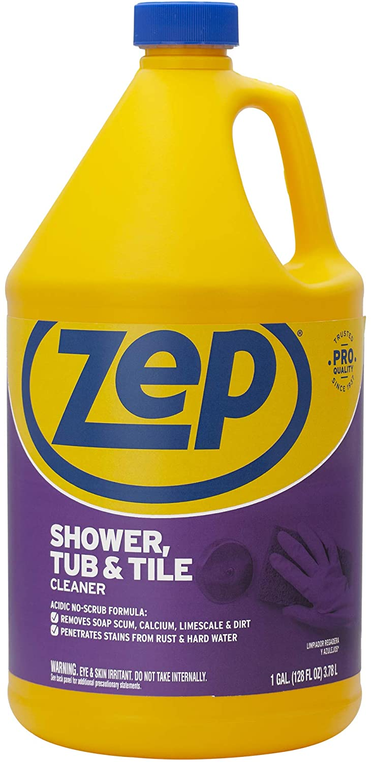Zep ZUSTT128 Shower Tub and Tile Cleaner, 128, Blue