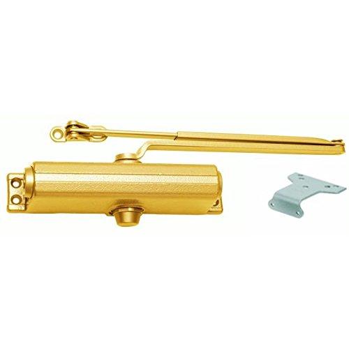 LCN P126162ASB P1261 62A 696 Sprayed Brass Closer x Thru Bolts