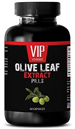 antioxidant - Olive Leaf Extract 500MG - Leaf Olive Extract - 1 Bottle (60 Capsules)