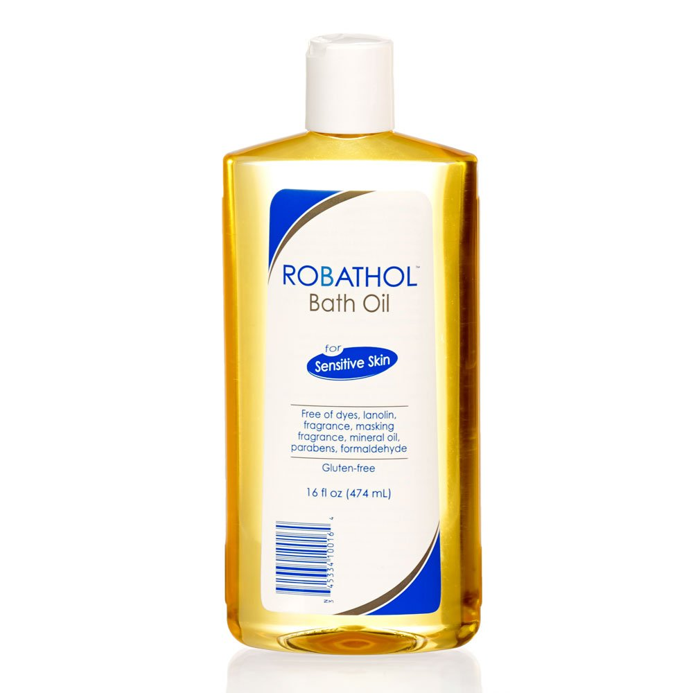 RoBathol Bath Oil | Fragrance, Gluten and Sulfate Free | For Sensitive Skin | 16 Fl Oz