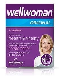 Vitabiotics Wellwoman 2 Packs 90 Capsules = Total 180 Capsules