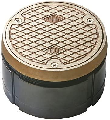 Jay R. Smith 4020NBTOP4-NS Floor Cleanout, Nickel Bronze, 5-3/4