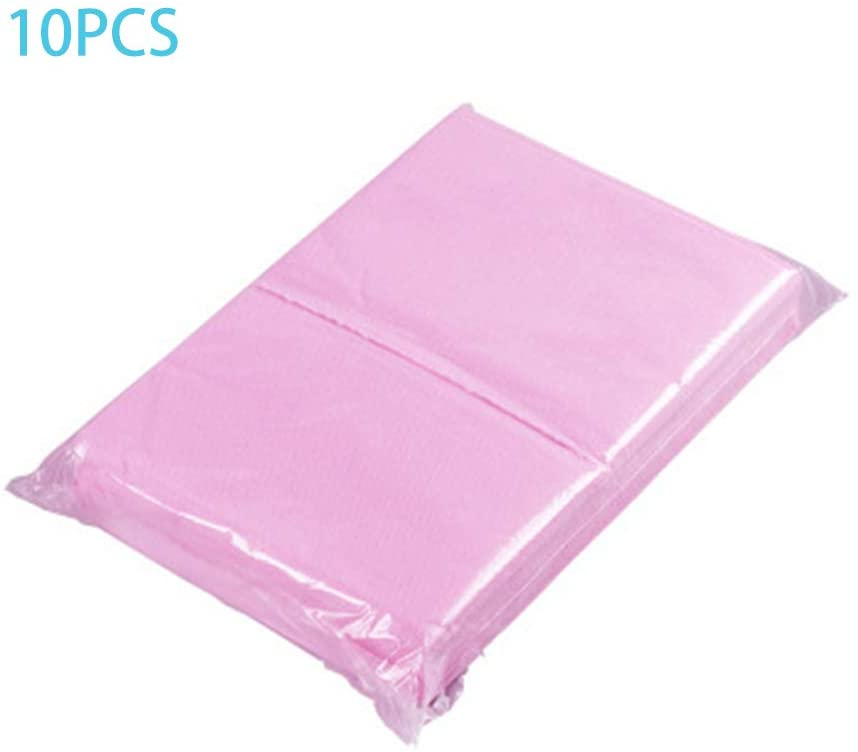 TiTaKa Disposable Bed Sheets, 10Pcs 175x75cm Disposable Non-Woven Bed Sheet Spa Massage Beauty Salon Bed Table Cover Sheets for SPA Sauna Beauty Salon