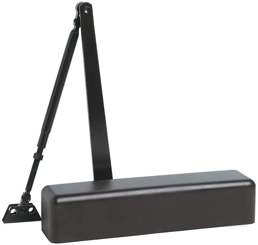 Dynasty Hardware 9000-DURO Surface Mount Door Closer, Duronotic Finish