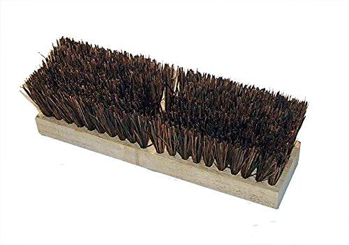 HUB City Industries 218 Standard Floor Brooms, Medium Stiff Palmyra, 18