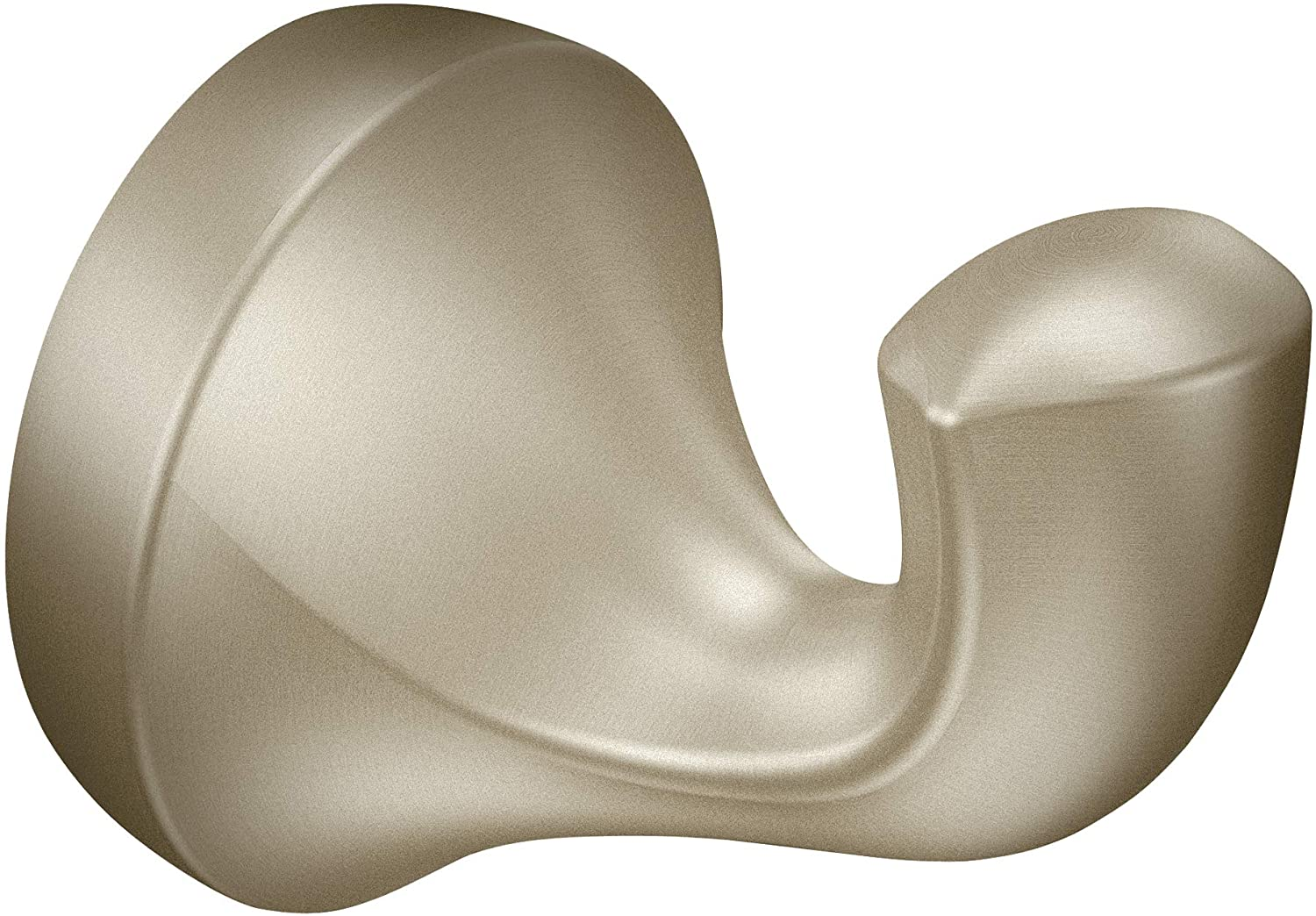Moen YB2803BN Eva Single Robe Hook, Brushed Nickel