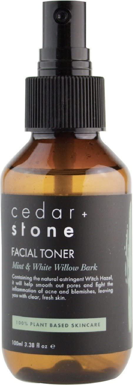 Cedar and Stone - Mint + White Willow Bark Toner (100 Milliliters)