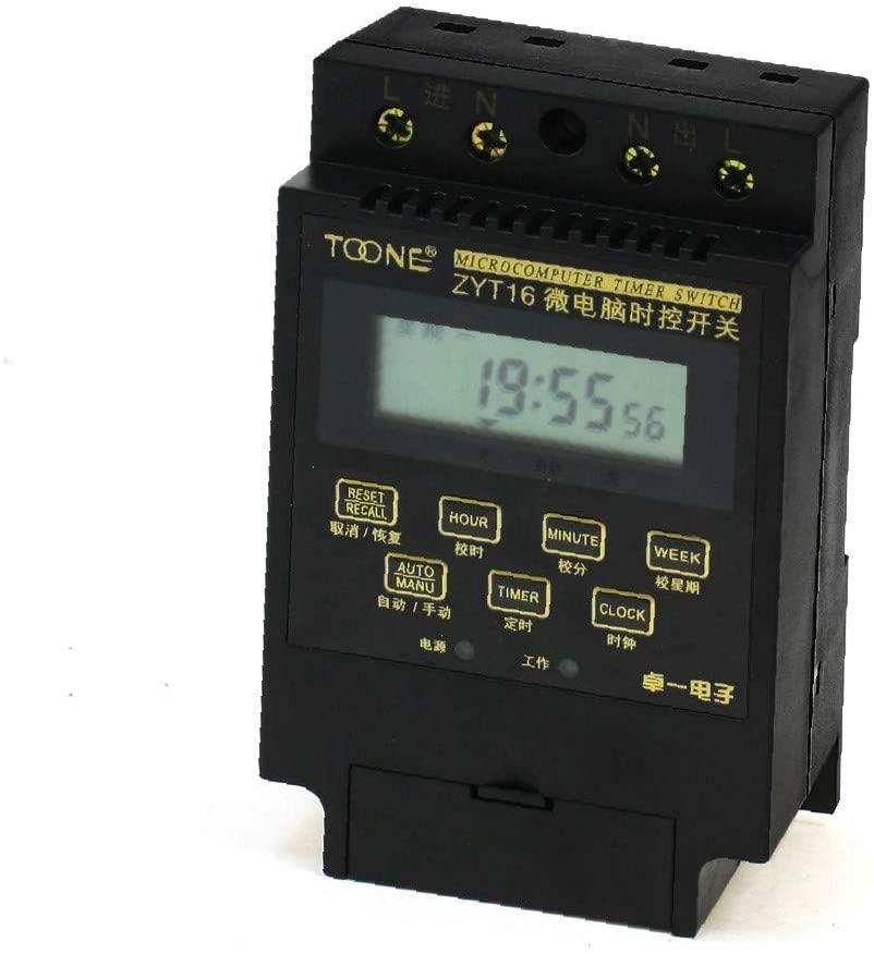 X-DREE ZYT16 1Min-168Hours Automatic high performance Controller Microcomputer Timer essential Switch(3f2-2b-dd-efa)