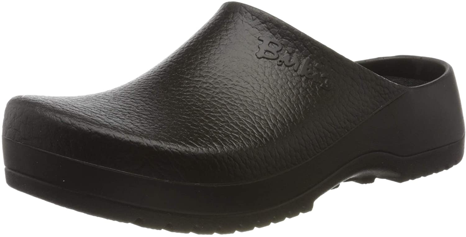 BIRKENSTOCK Men's Clogs, Black Schwarz Skull Black, 7.5 us
