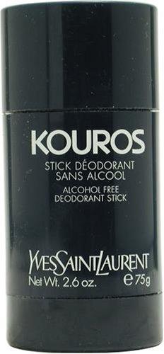 Kouros By Yves Saint Laurent For Men. Alcohol Free Deodorant Stick 2.6-Ounces