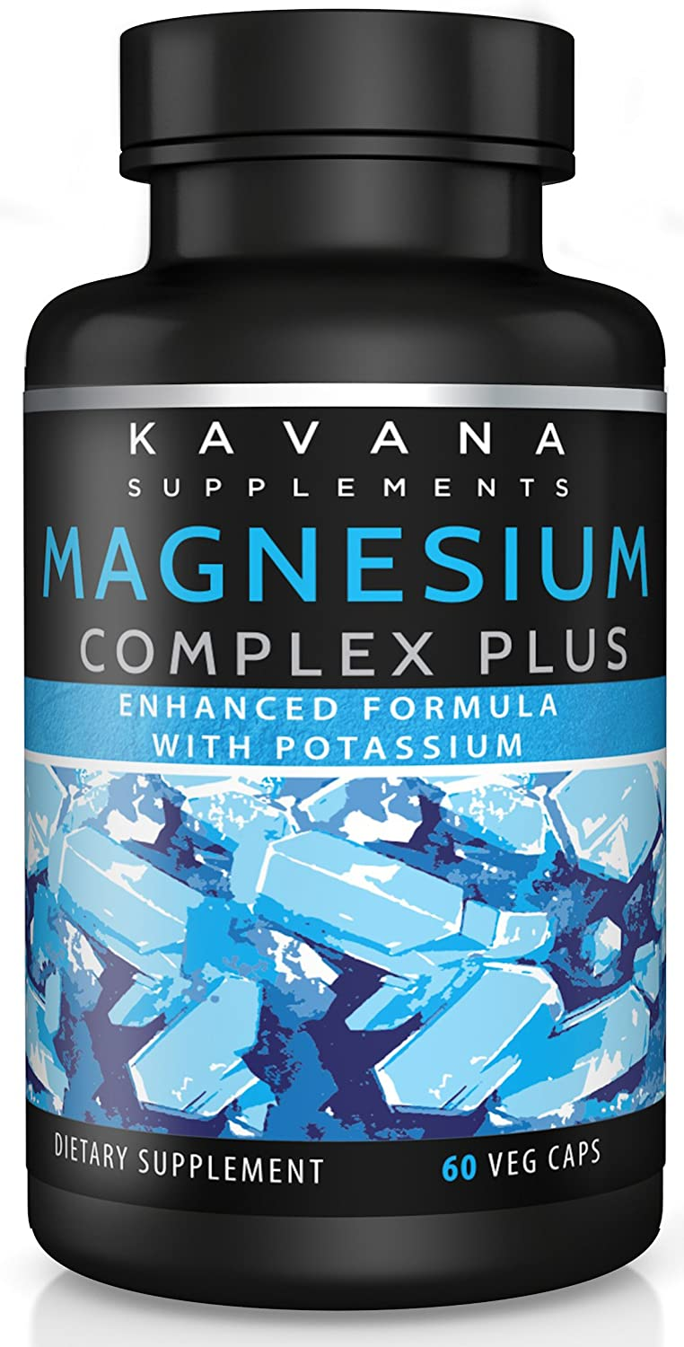Magnesium and Potassium Citrate Complex Supplement for high Absorption, detoxify Your Body, Relieve Muscle spasms, Promote Relaxation, and Support Heart Health