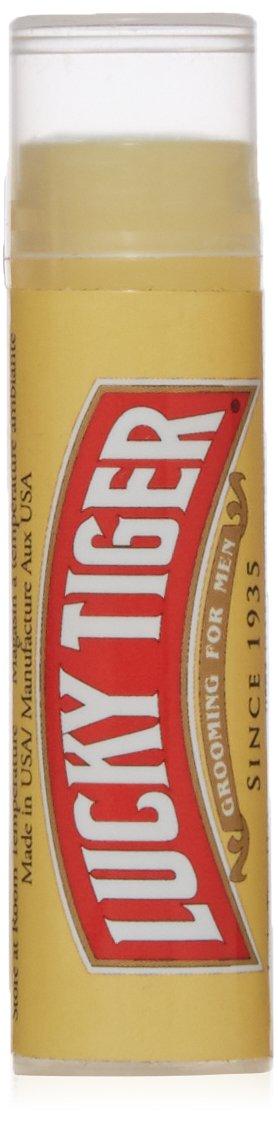 Lucky Tiger Premium Peppermint Lip Balm, 0.15 Ounce