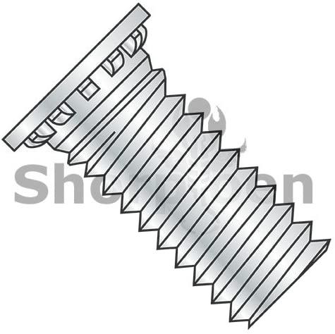 8-32X1/4 Self Clinching Stud Full Thread Hardened Steel Heat Treat Zinc and Bake - Box Quantity 10000 by Shorpioen BC-0804SCN