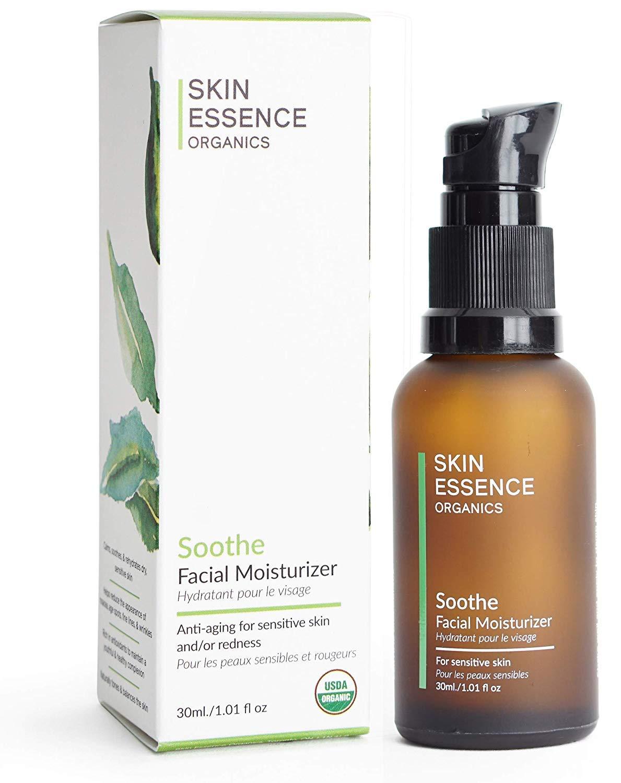 Skin Essence Organics Facial Moisturizer Serum - Soothe