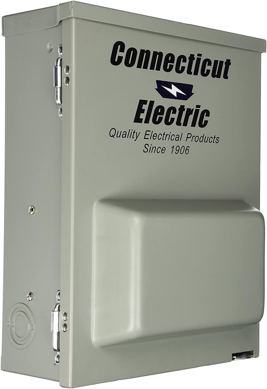 Connecticut Electric CESMPSC75GRHR 80-Amps/120240-Volt Circuit Protected RV Power Outlet