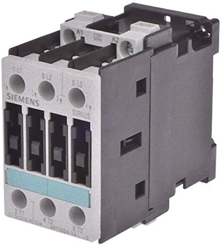 Siemens 3RT1024-1AF00 CONTACTOR, AC-3 5.5 KW/400 V, AC 110 V, 50 HZ, 3-POLE, SIZE S0, SCREW CONNECTION