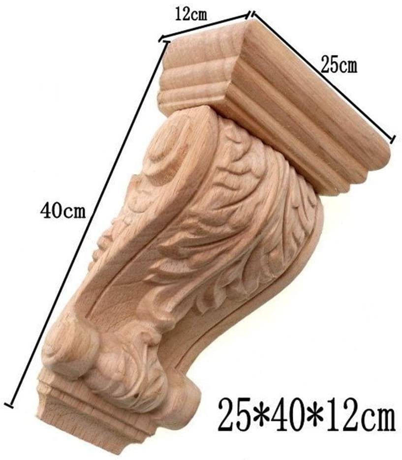 Rome Wood Wardrobe Decorative Corbel Applique Stigma Carved Shavings Wedding Decoration Miniaturas Craft Home Decor M