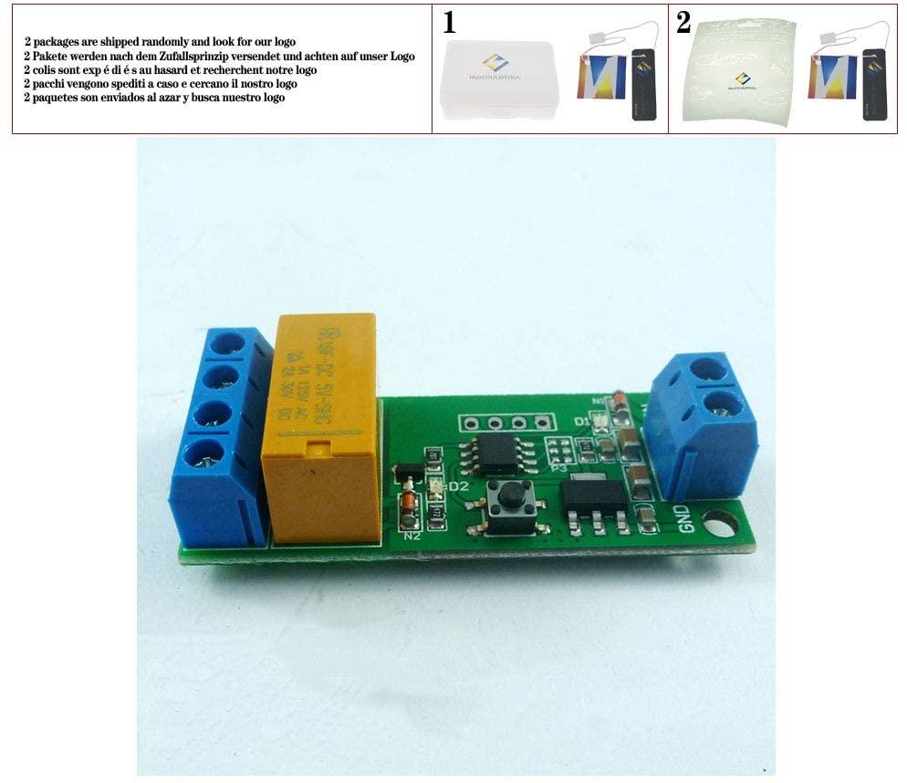 CE032 DC 5V 6V 9V 12V Motor Reversible Controller Time adjustable Delay Relay Switch 2A Drive current 5000s 0.1setp