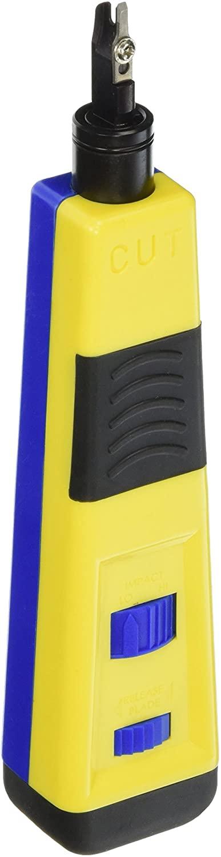Platinum Tools Platinum 13108C PRO Punchdown Tool, w/110 EZ-Data Cut Blade, Clamshell package