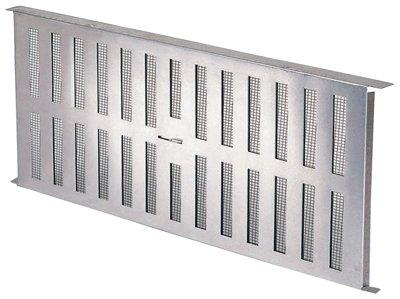 FA109000 Aluminum Foundation Vent With Slider, 16-15/16 x 8-In. - Quantity 12