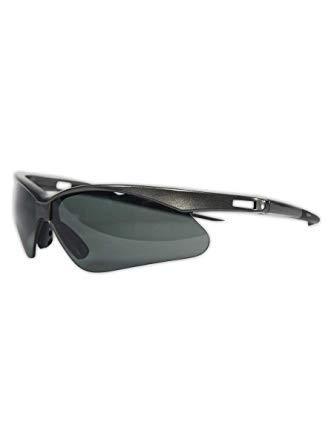 Jackson Safety V30 Nemesis Polarized Safety Glasses (28635), Polarized Smoke Lenses, Gunmetal Frame. Premium Pack