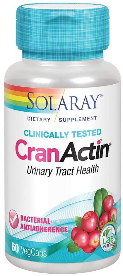 Solaray Cranactin TM Cranberry AF TM Extract 60's