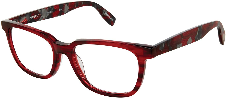 Alder Street – Luxury Reading Glasses From Scojo New York – Smoky Merlot