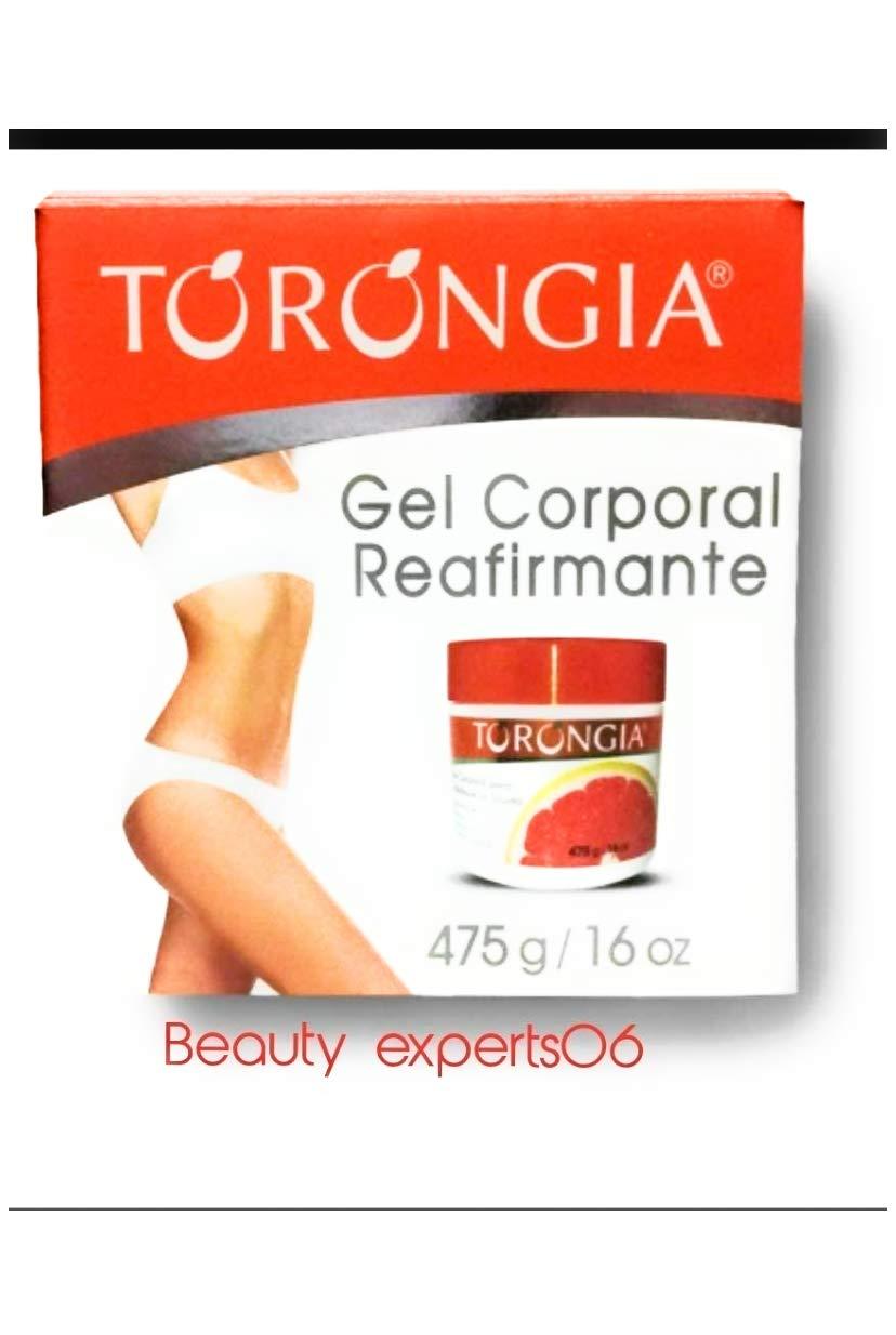 TORONGIA SLIMMING GEL Firming gel Cellulitis/GEL CORPORAL REAFIRMANTE 16oz. 475g