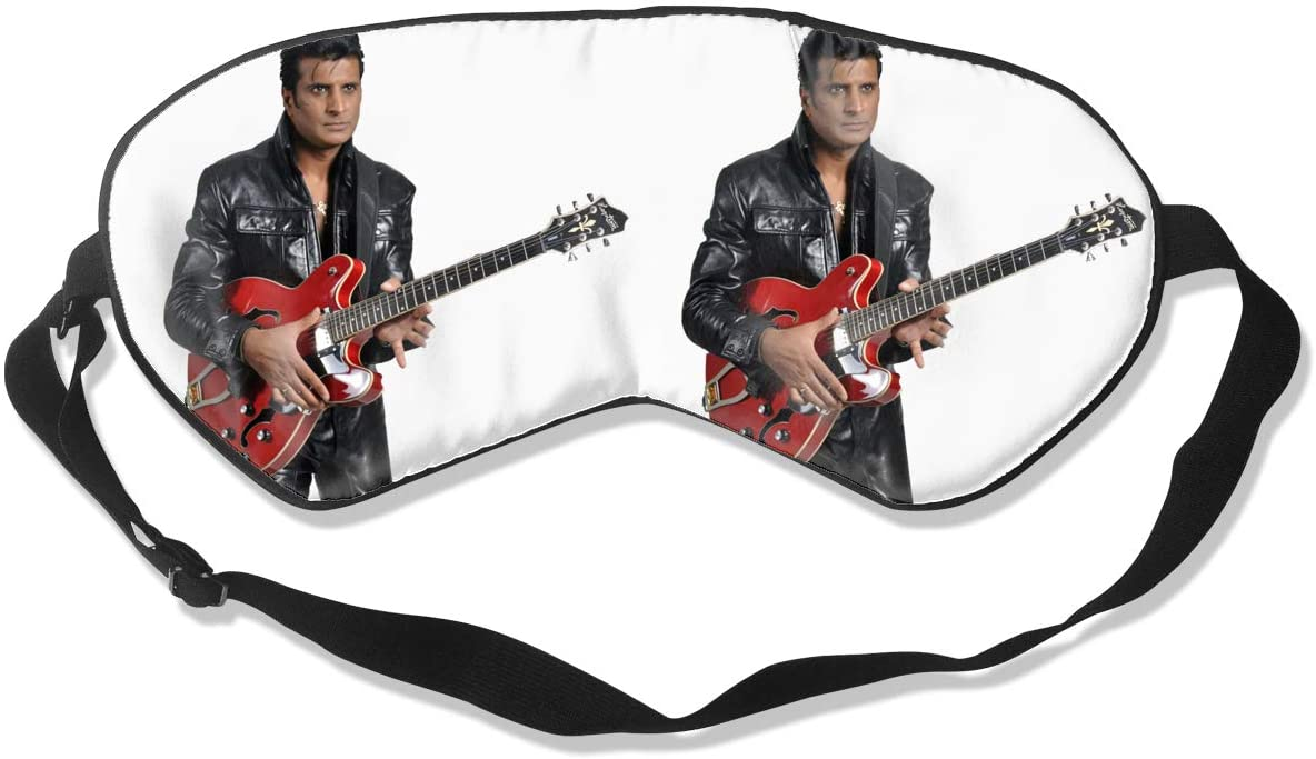 Wehoiweh Elvis Presleybreathable and Comfortable, Silky Skin-Friendly, Ideal Eye Mask for Dry Eyes