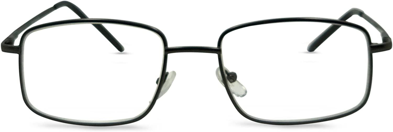 The Boston Slim Square Reading Glasses Set