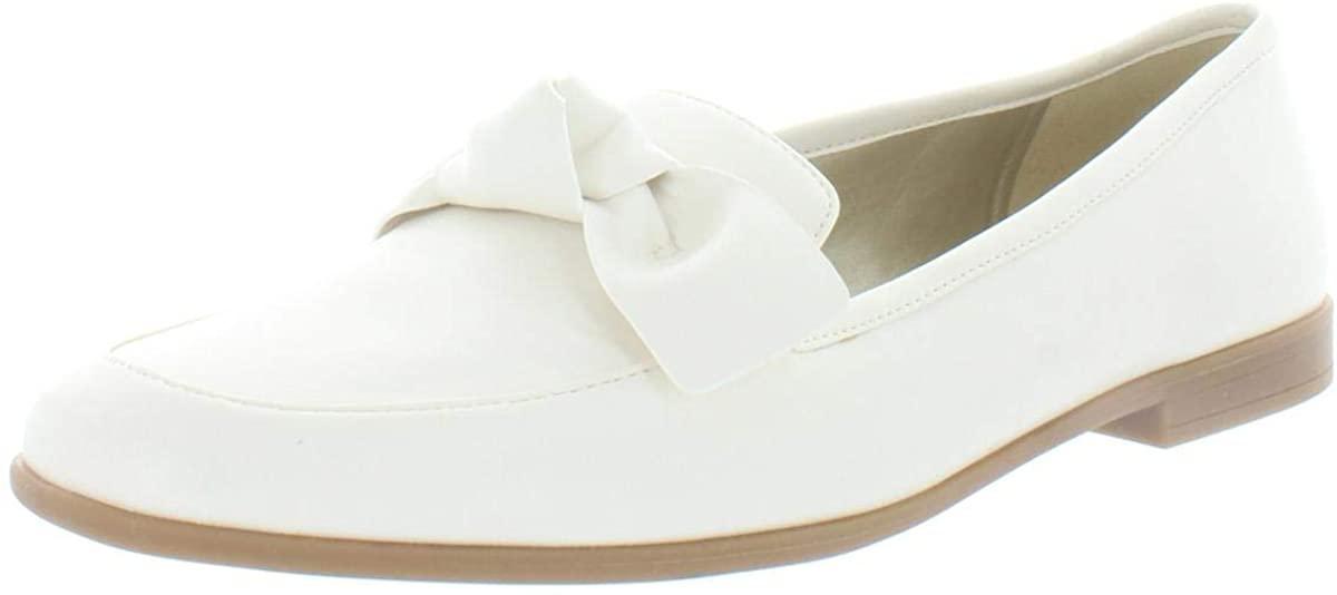 Bandolino Womens Casaretti 3 Faux Leather Slip On Loafers