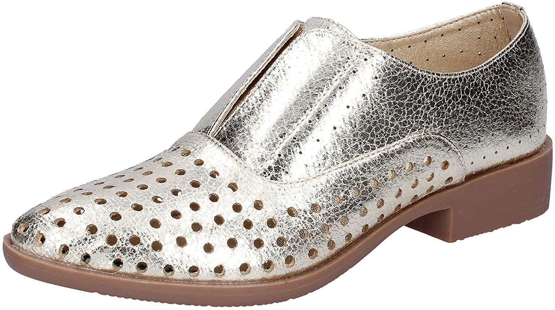 Francesco Milano Oxfords-Shoes Womens Silver