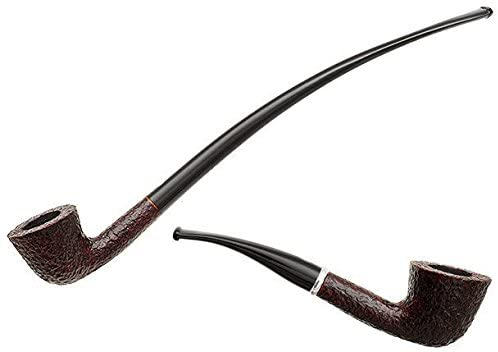 Details about Savinelli Tandem 920 KS Rusticated Tobacco Smoking Pipe 2 Stems One Bowl