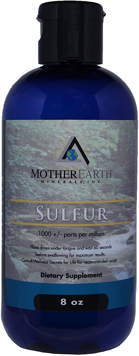 Angstrom Minerals, Sulfur-8 ozs.