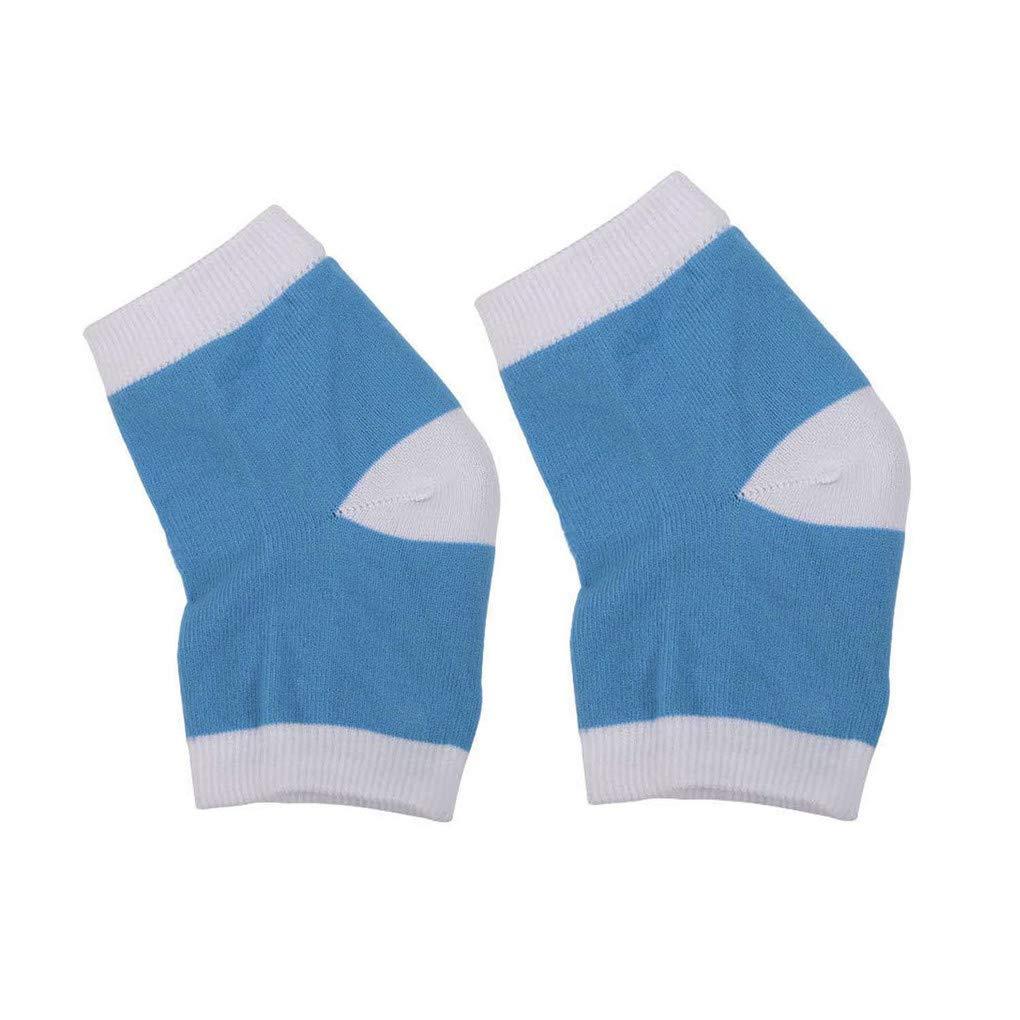 Ventilated Gel Heel Socks Soft Moisturizing, Open Toe Socks Designed for Ventilating and Refreshing, Lined with Moisturizing Gel, Moisturizing Dry Chapped Heel, Daily Care for Foot Skin