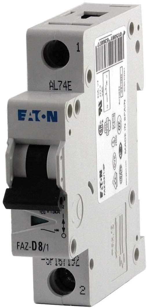 Thermal Magnetic Circuit Breaker, Miniature, B Curve, UL 1077, FAZ Series, 480 VAC, 48 VDC, 13 A