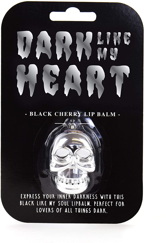 Gift Republic Dark Like My Heart Black Cherry Lip Balm