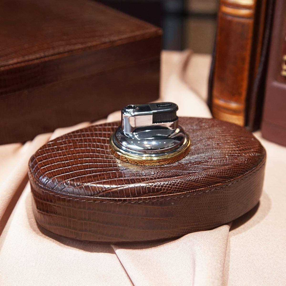 Renzo Romagnoli Elite Business Table Leather Lighter