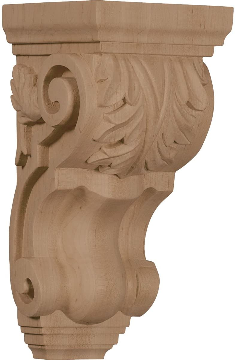 Ekena Millwork CORW04X05X10TAMA-CASE-2 Corbel, Factory Primed
