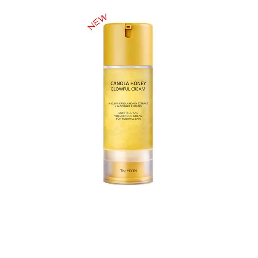 [The YEON]Canola Honey Glowful Cream((100 ml/Net wt. 3.38 oz) - Intensely moisturizing