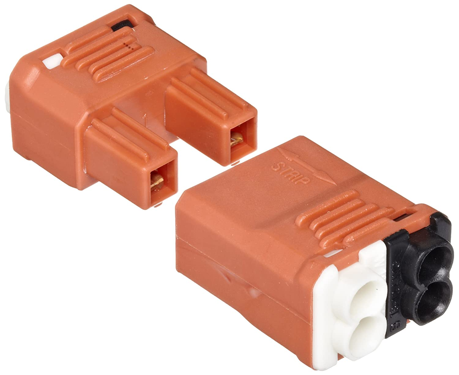 Morris Products 23004 Luminaire Disconnect, 2 Poles, 2 Line Side 4 Load Side (Pack of 25)