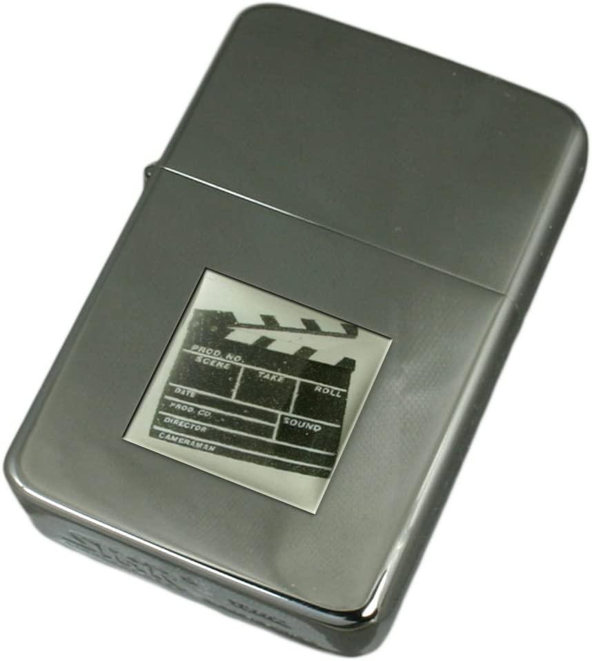 Engraved Lighter Film Director Clapper Board