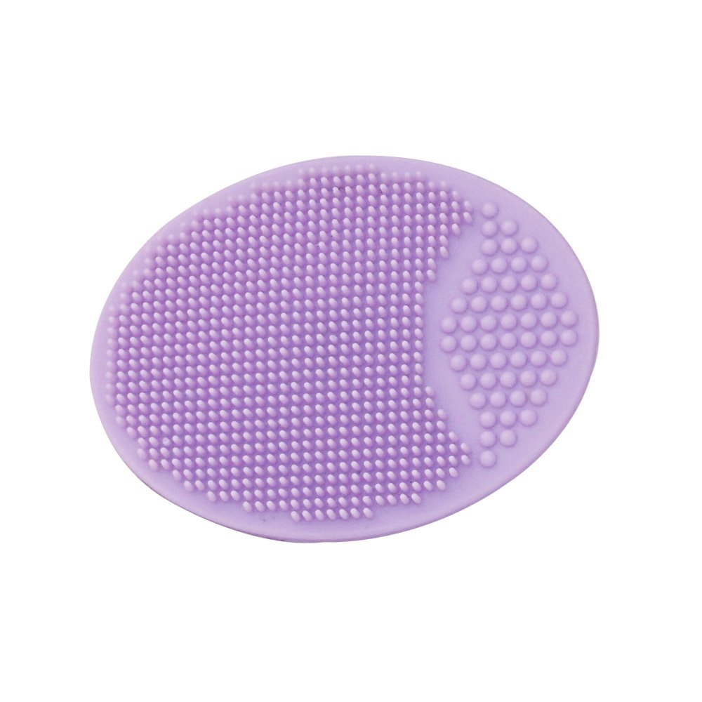 HealthAndYoga(TM) Silicone Adult Face Exfoliator - Face Scrub - Black Head Remover - Assorted Colors (Single)