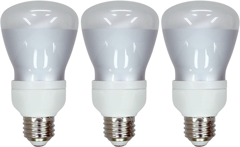 Set of 3 GE Lighting Reveal Energy Smart CFL's 11-Watt (45-watt Replacement) 370-Lumen R20 Floodlight Bulb with Medium Base