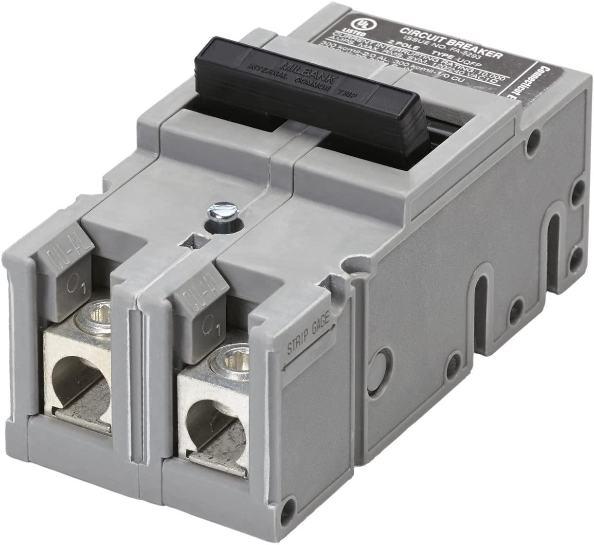 Connecticut Electric UBITBFP1502 TBFP1502 2P 150A MAIN UBI Replacement Breaker for Zinsco Type QFP