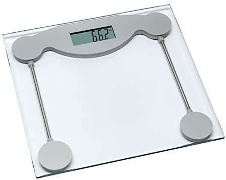TFA Dostmann 50.1005.54 Limbo Personal Scales/Weighing Area Made from Hardened Glass