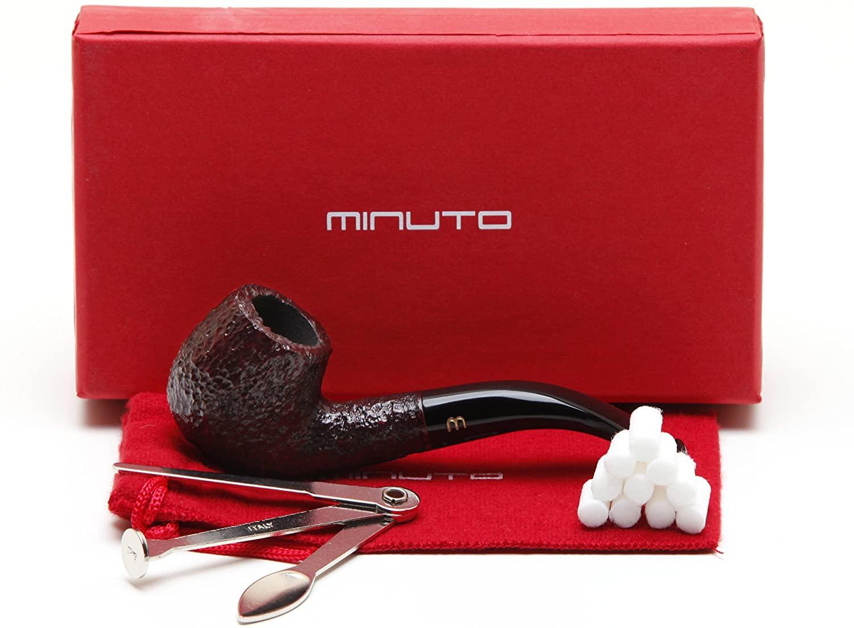 Savinelli Minuto Rustic Bruna 609 Tobacco Pipe