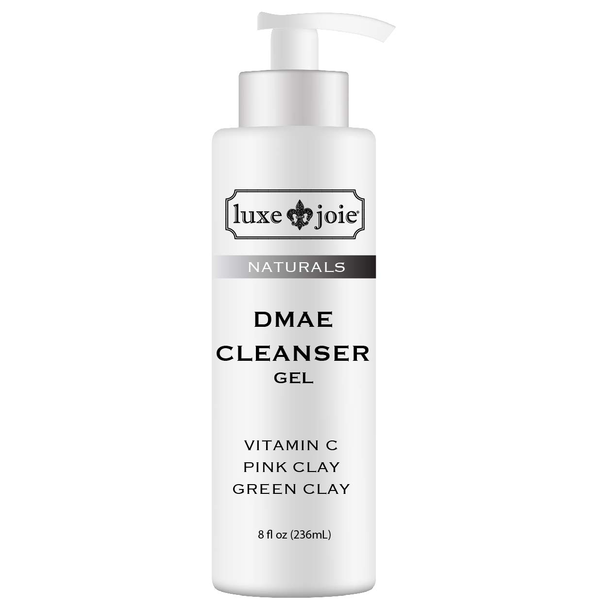 DMAE Cleanser Gel Facial Wash VEGAN No Added Parabens Phthalates Gluten Anti-Wrinkle Anti-Aging Dry Sensitive Normal Skin